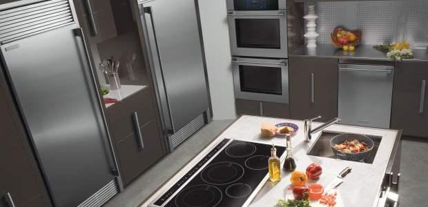 cocina con estufa de induccion magnetica