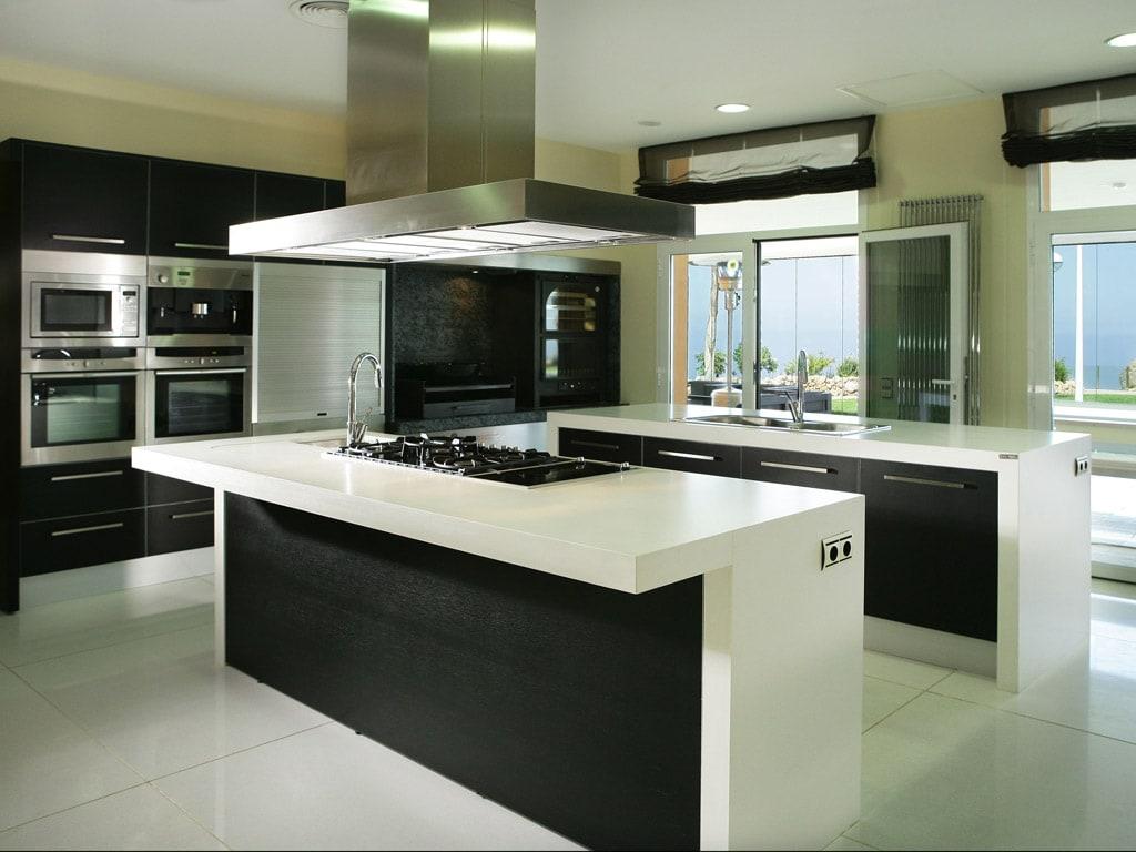 Cocinas con estilo moderno