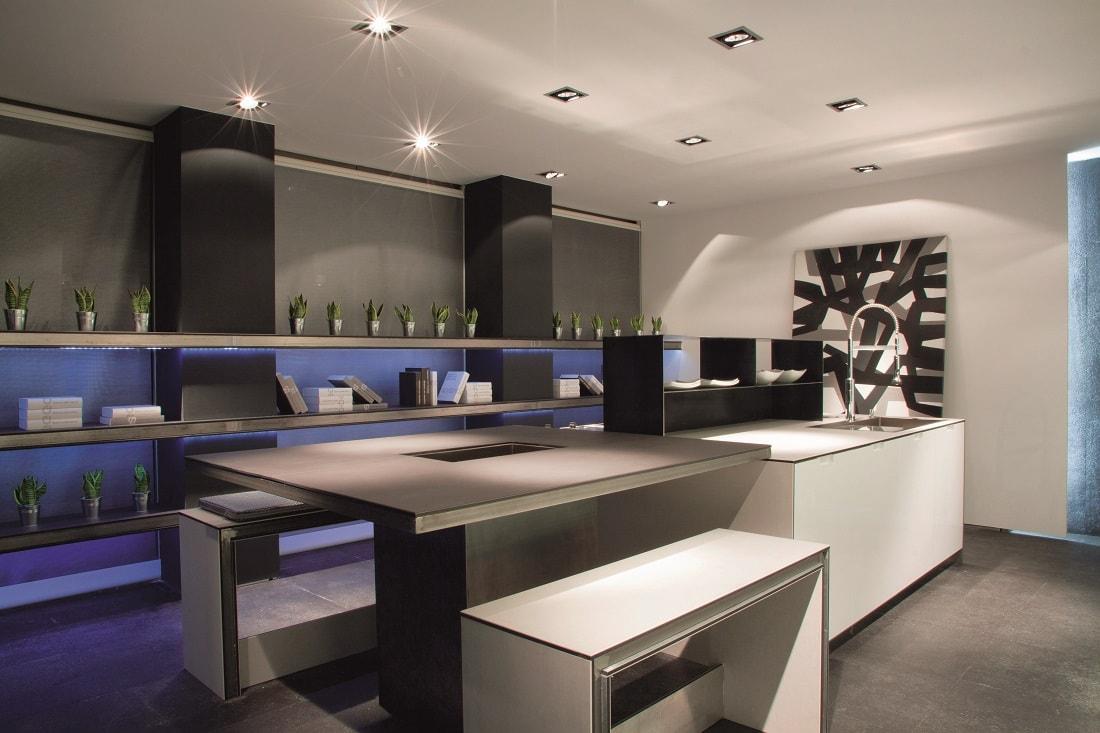 Diseño de cocina  ¿Blanco o Negro?