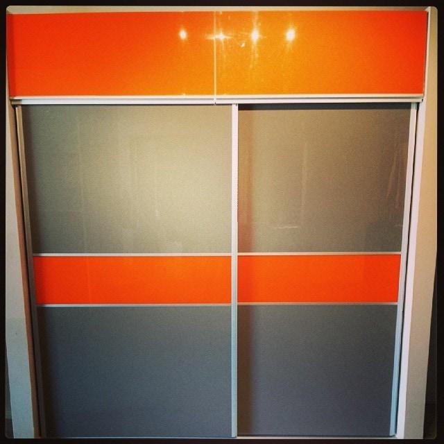 closet naranja alto brillo 2