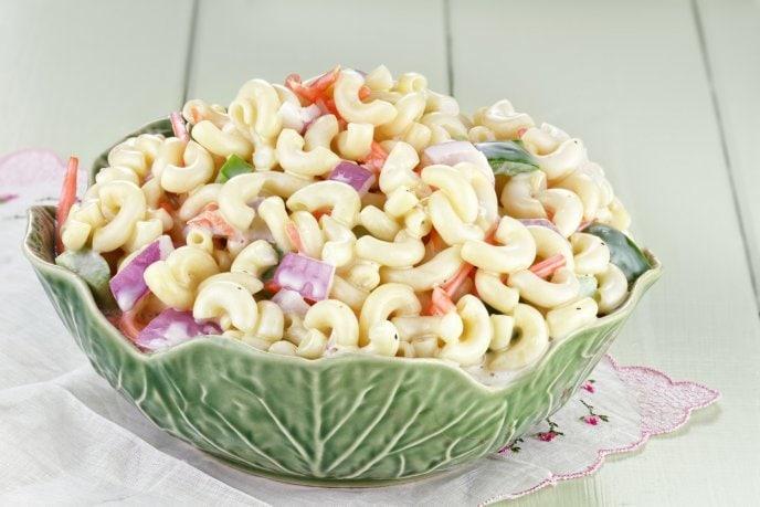 Ensalada de coditos sin mayonesa