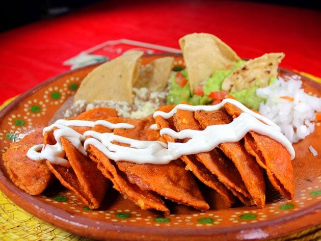 enchiladas potosinas mexicanas