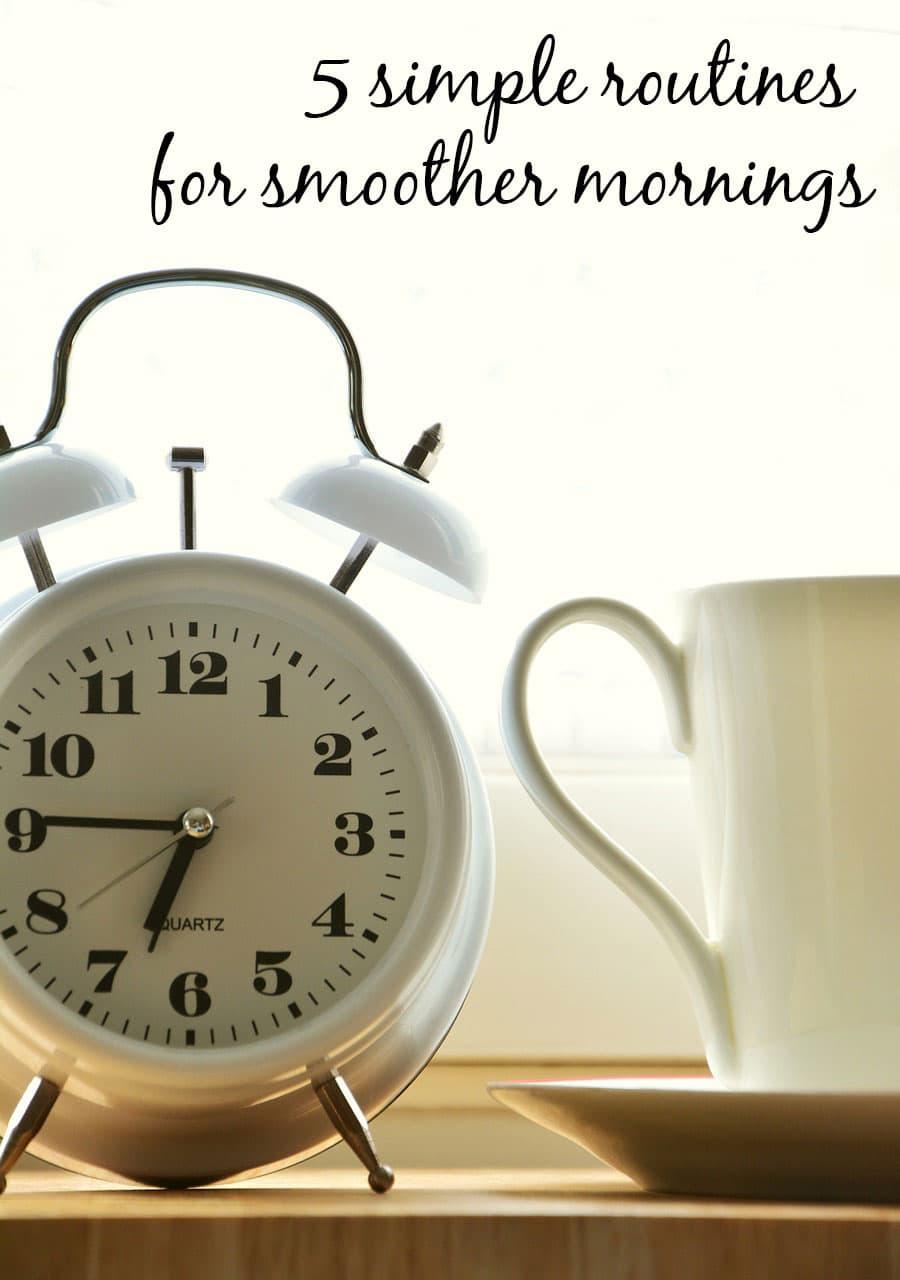 5 rutinas nocturnas que harán que tus mañanas sean más fáciles