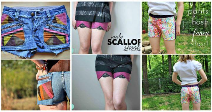 81 atractivos shorts de bricolaje Ideas para probar este verano