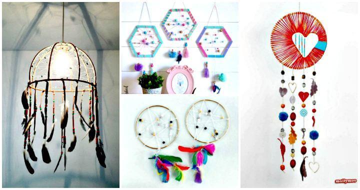 33 Ideas de Atrapasueños de DIY con Patrones Paso a Paso